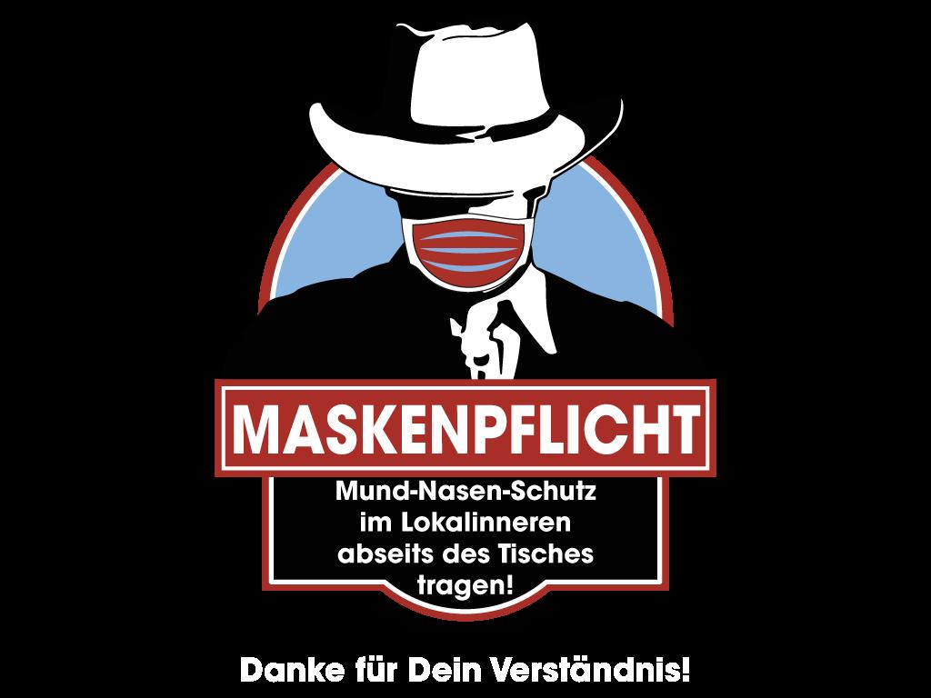 Mr. John's - MASKENPFLICHT